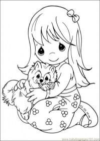 Precious Moments Coloring Pages to Print for Free 3agr5