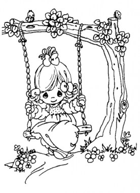 Precious Moments Fairy Coloring Pages 4afx7