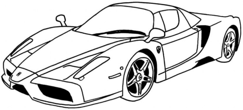 Race Car Coloring Pages to Print 35ab1