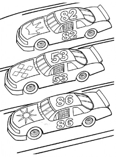 Race Car Coloring Pages to Print 75bc4