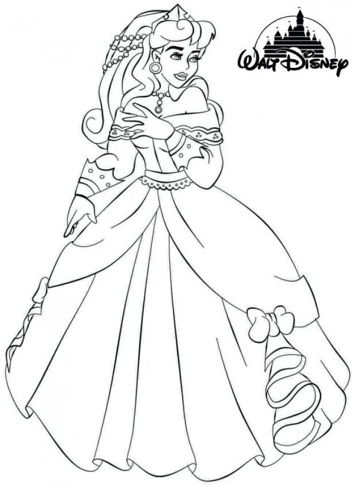 Sleeping Beauty Coloring Pages Disney Princess   3htpm