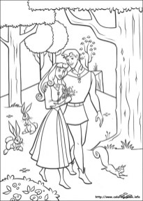 Sleeping Beauty Coloring Pages Princess Aurora 1hatd