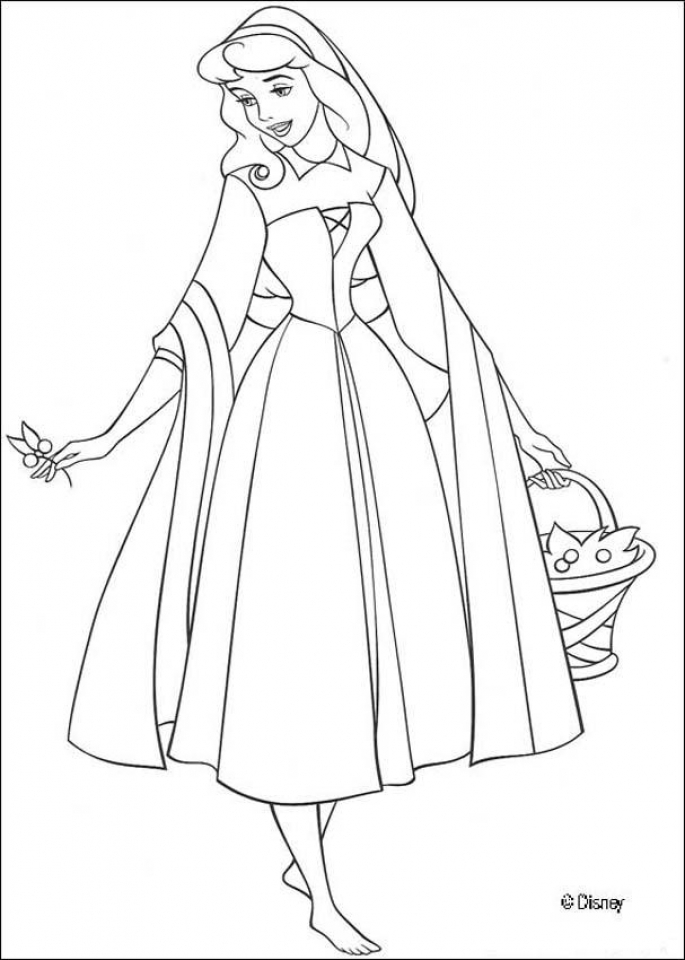 Sleeping Beauty Coloring Pages Printable   1lrh6