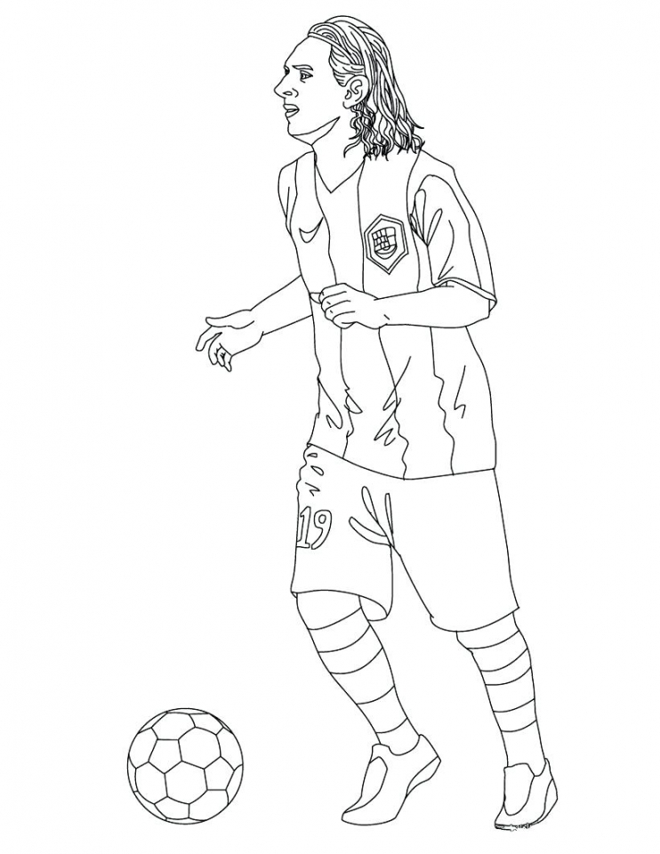 Soccer Coloring Pages Free Sports Printable   621la