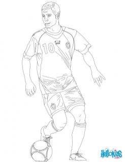 Soccer Coloring Pages Free Sports Printable bg4sm