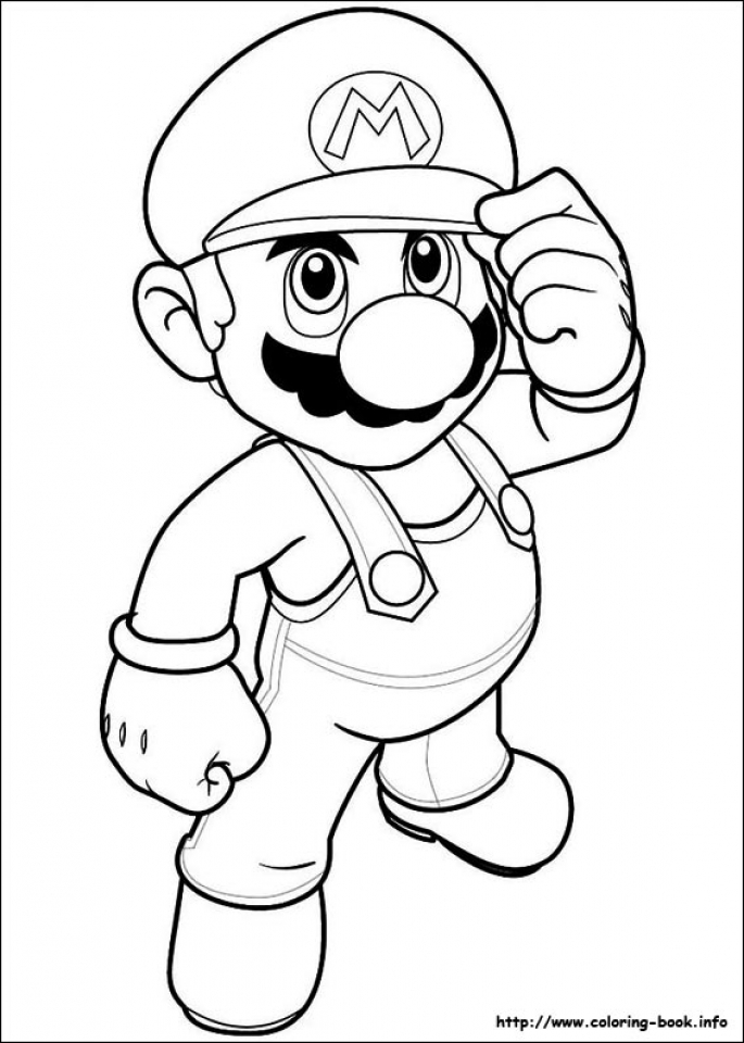 Super Mario Coloring Pages Printable   bcf21