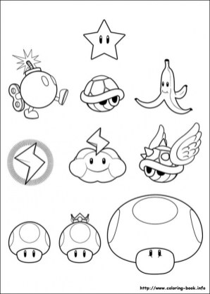 Super Mario Coloring Pages Printable gst3x