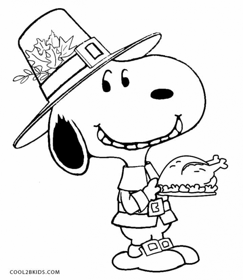 Thanksgiving Coloring Pages for Preschoolers   73519