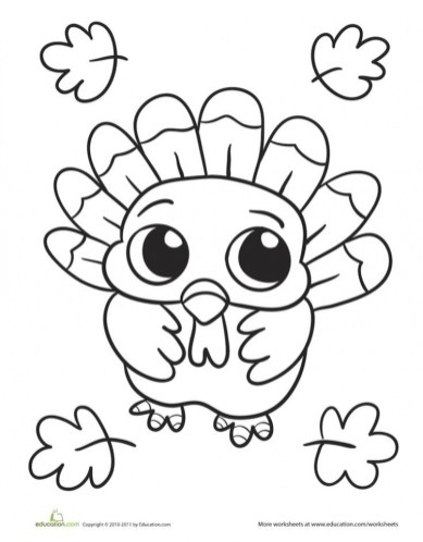 Thanksgiving Coloring Pages to Print 73821