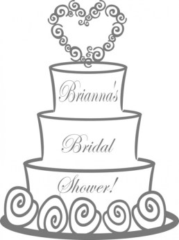 Wedding Cake Coloring Pages bhsl9