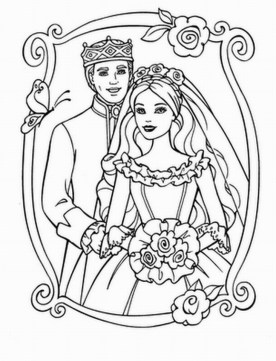 Wedding Coloring Pages to Print 6ag4m