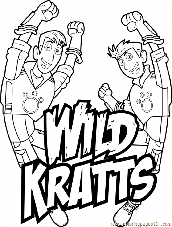 Get This Wild Kratts Coloring Pages Free Ypy8n Coloring Pages