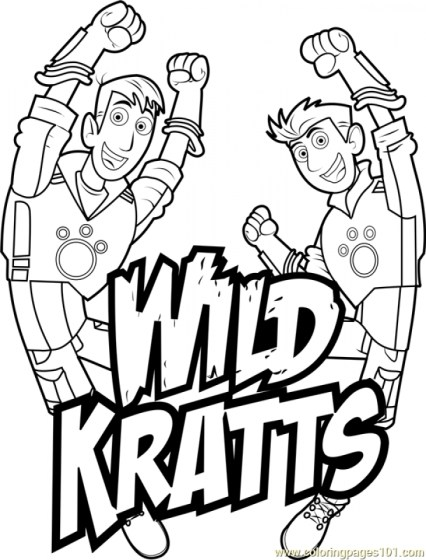 Wild Kratts Coloring Pages Free ypy8n