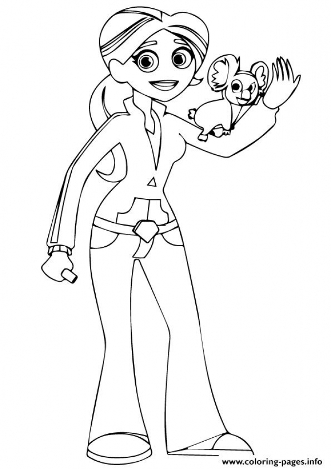 Wild Kratts Coloring Pages to Print   at38l
