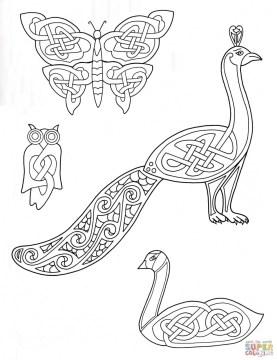 Zentangle celtic art design coloring pages khlo9