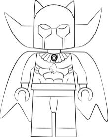 Black Panther Coloring Pages Free leg0