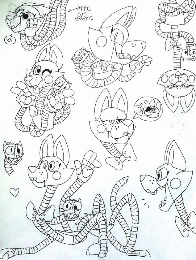 Five Nights at Freddys coloring pages printable gg78