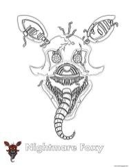 Five Nights at Freddys coloring pages yq77