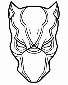 Free Black Panther Coloring Pages to Print tpg4