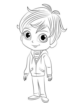 Free Shimmer and Shine Coloring Pages for Kids ijk5