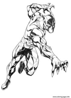 Marvel Black Panther Coloring Pages wld7