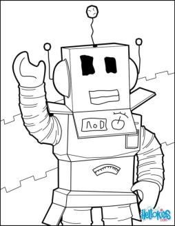 Roblox Coloring Pages Free rtb2