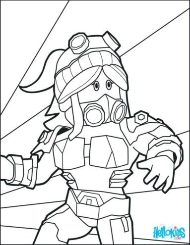 Roblox Coloring Pages Printable wmn8