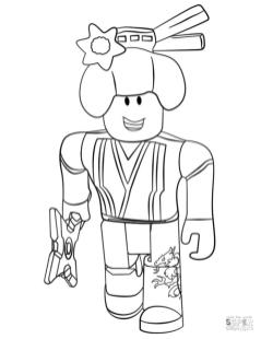 Roblox Coloring Pages nnj3