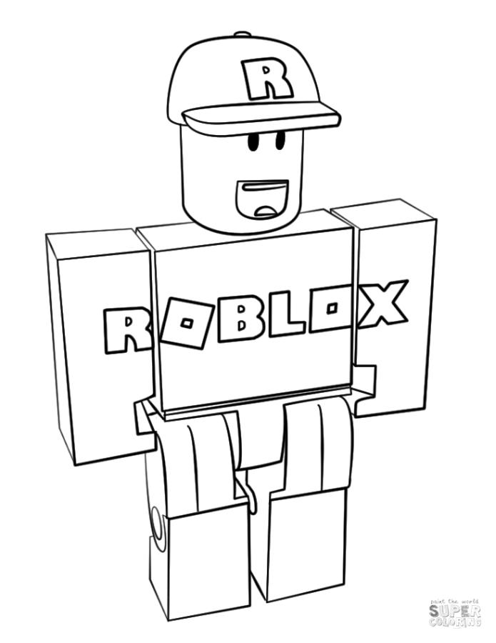 Roblox Coloring Pages rtd2