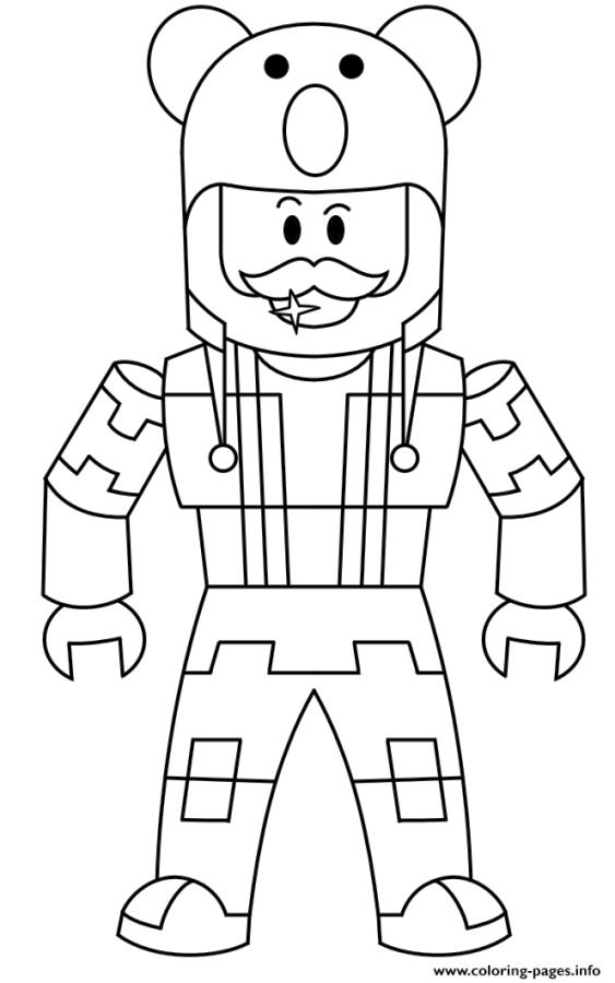 Get This Roblox Coloring Pages to Print emn4