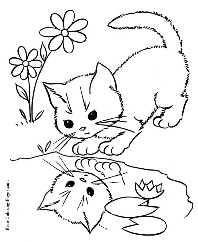 cat coloring pages free for kids 7fg40
