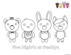 fnaf coloring pages free dh32