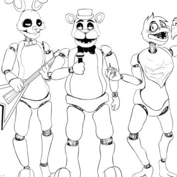 fnaf coloring pages to print fq70