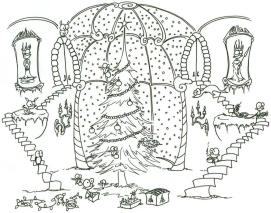 Adult Christmas Coloring Pages Free to Print Christmas Tree hny0