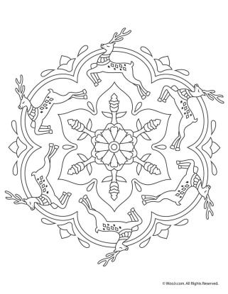 Adult Christmas Coloring Pages Printable rdr9