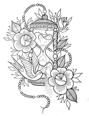 Adult Coloring Pages Patterns Flowers Free Printable g3j1