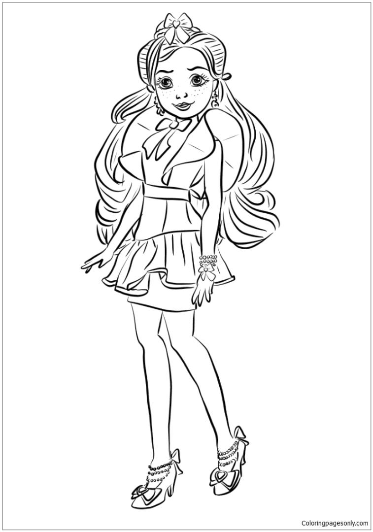 Get This Descendants Coloring Pages to Print jan3