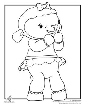 Doc McStuffins Coloring Pages Printable lmb9