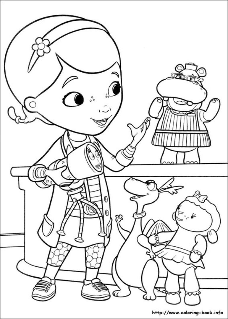 Doc McStuffins Coloring Pages idk3