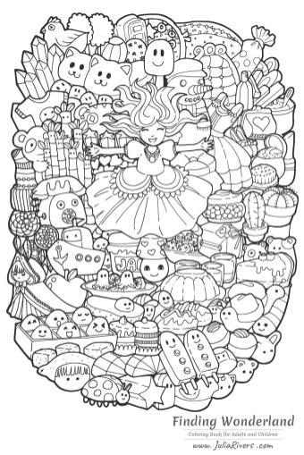 Kawaii Coloring Pages Printable
