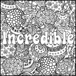 Printable Adult Coloring Pages Quotes Incredible