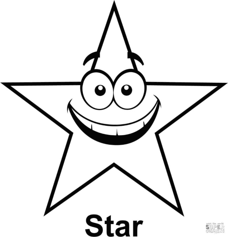 Star Coloring Pages for Kids