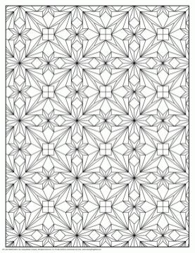 Adult Coloring Pages Patterns Detailed Geometry 7dwq