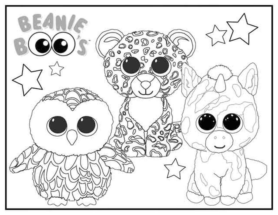 - Get This Beanie Boo Coloring Pages Free 0bhu !