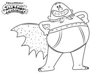Captain Underpants Coloring Pages Free Printable 663e