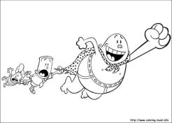 Captain Underpants Coloring Pages Printable 006a