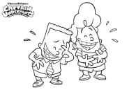 Captain Underpants Coloring Pages Printable 009f