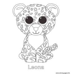 Leonna Smitten Beanie Boo Coloring Pages to Print 7rdz