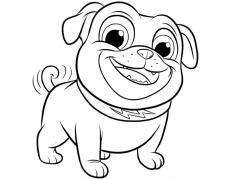 Puppy Dog Pals Coloring Pages for Kids 3der
