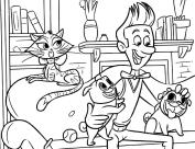Puppy Dog Pals Coloring Pages kio2